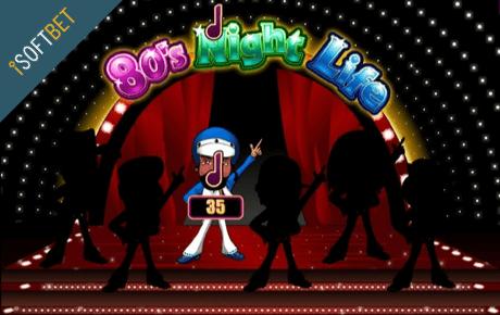 80s Night Life slot machine