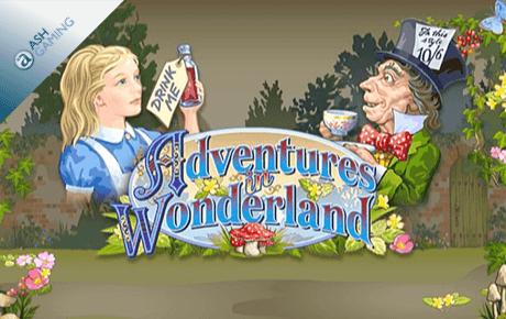 adventures in wonderland slot machine online