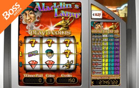 aladdin's lamp slot machine online
