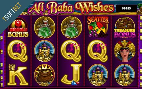 Ali Baba Wishes slot machine