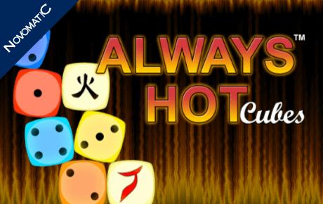 Always Hot Cubes slot machine