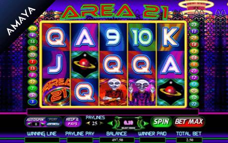 Area 21 slot machine