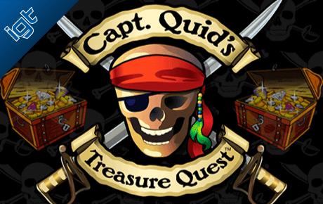 capt quid's treasure quest slot machine online