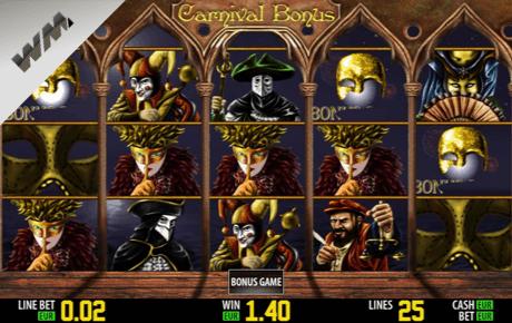 carnival bonus slot machine online