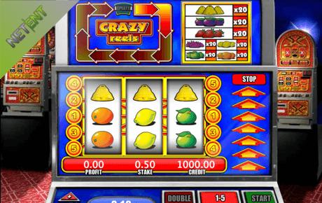 crazy reels slot machine online