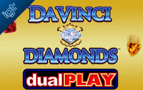 da vinci diamond dual play slot machine online