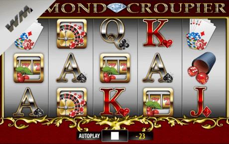 Diamond Croupier slot machine