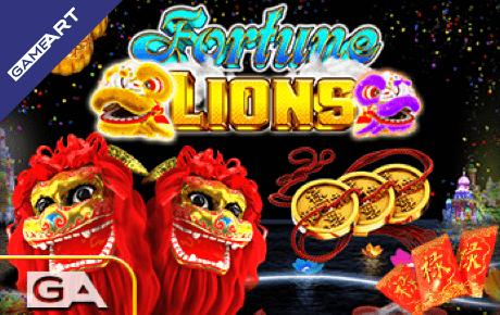 fortune lions slot machine online