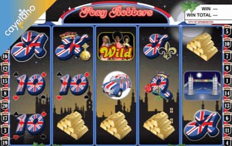 foxy robbers slot machine online