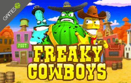Freaky Cowboys slot machine