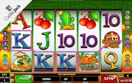 geckos gone wild slot machine online
