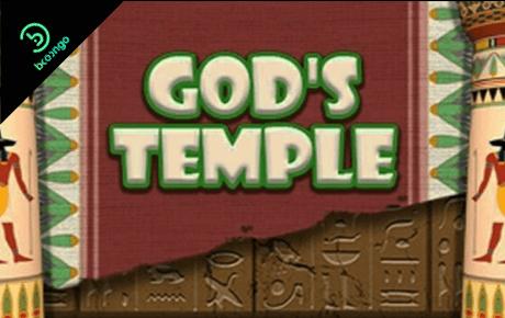god's temple slot machine online