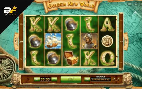 golden new world slot machine online