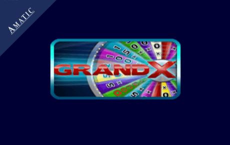 Grand X slot machine