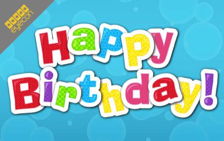 happy birthday slot machine online