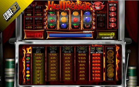 Hellraiser slot machine