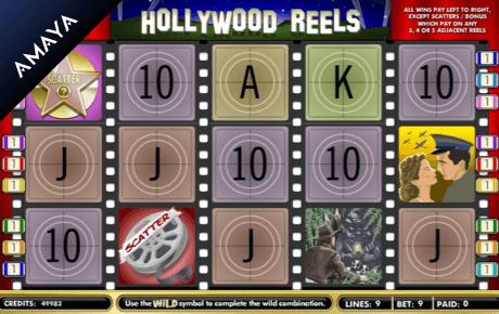hollywood reels slot machine online