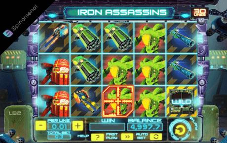 iron assassins slot machine online