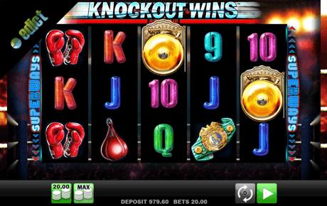 knockout wins slot machine online