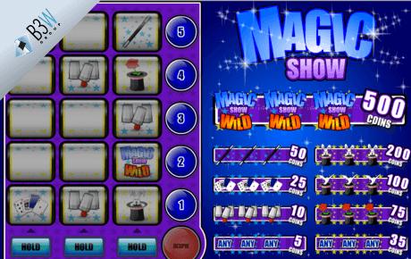 magic show slot machine online
