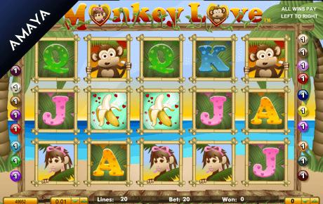 monkey love slot machine online