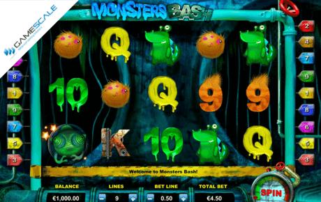 Monsters Bash slot machine