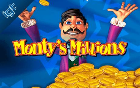 monty's millions slot machine online