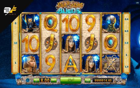 pharaohs and aliens slot machine online