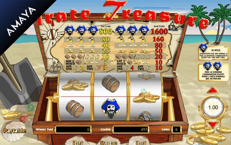pirate treasure slot machine online