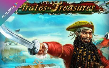 Pirates Treasures Deluxe slot machine