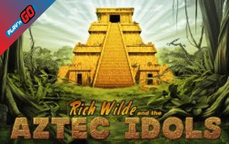 rich wilde and the aztec idols slot machine online