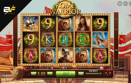 rome warrior slot machine online