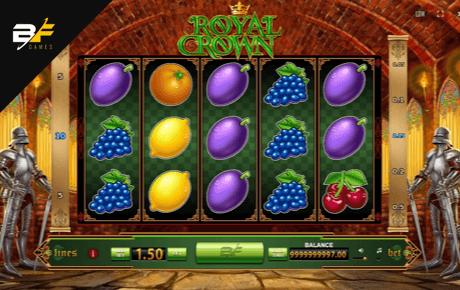 royal crown slot machine online