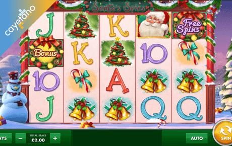 santa's spins slot machine online