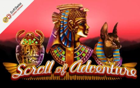 scroll of adventure slot machine online