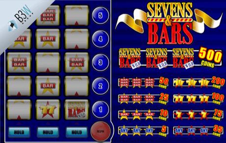 sevens & bars slot machine online