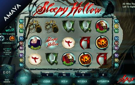 sleepy hollow slot machine online