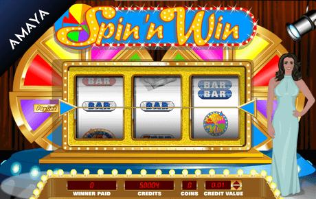 spin 'n win slot machine online