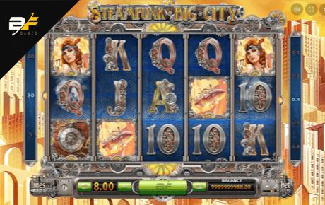 steampunk big city slot machine online