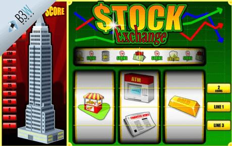 stock exchange slot machine online