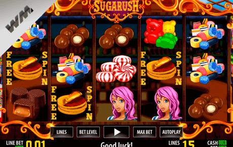 Sugarush slot machine