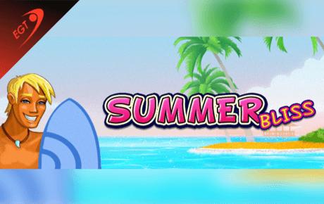 summer bliss slot machine online