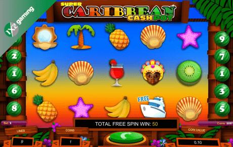 Super Caribbean Cashpot slot machine