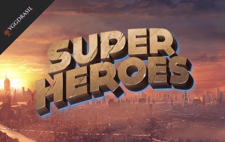 super heroes slot machine online