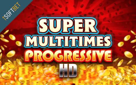 Super Multitimes Progressive slot machine