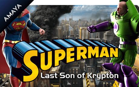 superman: last son of krypton slot machine online