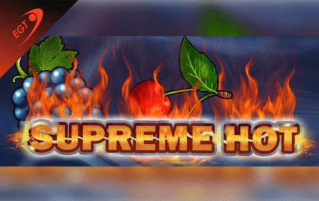 supreme hot slot machine online