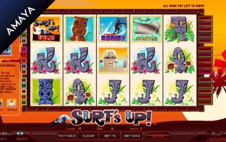 surf's up slot machine online