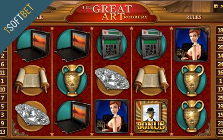 The Great Art Robbery slot machine