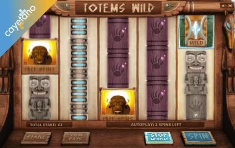 totems wild slot machine online